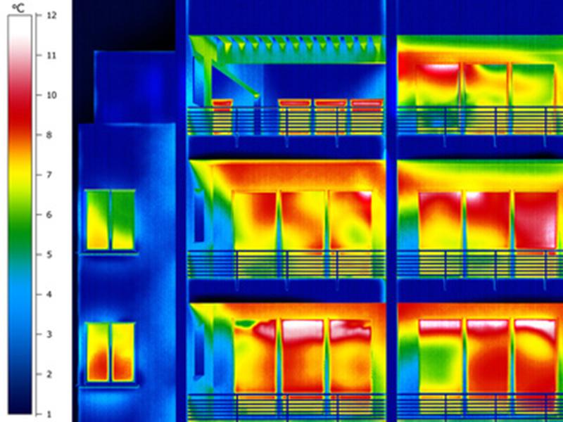 Quick – Check: Thermografische Überprüfung der Fenster und Hauseingangstür - ISB-Henseler